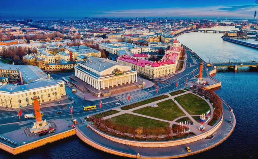 Васильевский остров Санкт-Петербург