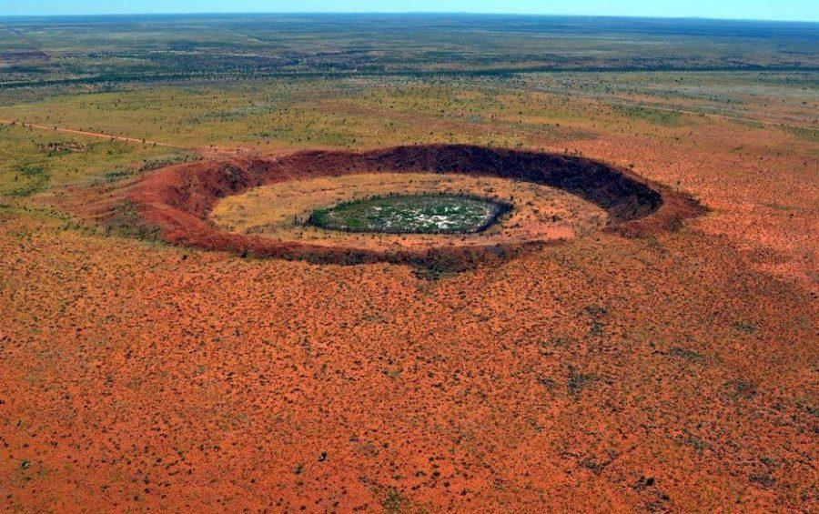 Огромные австралийские кратеры
