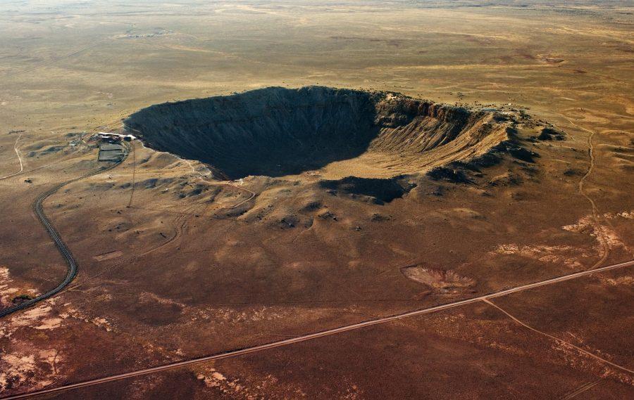 Известный кратер Бэрринджера