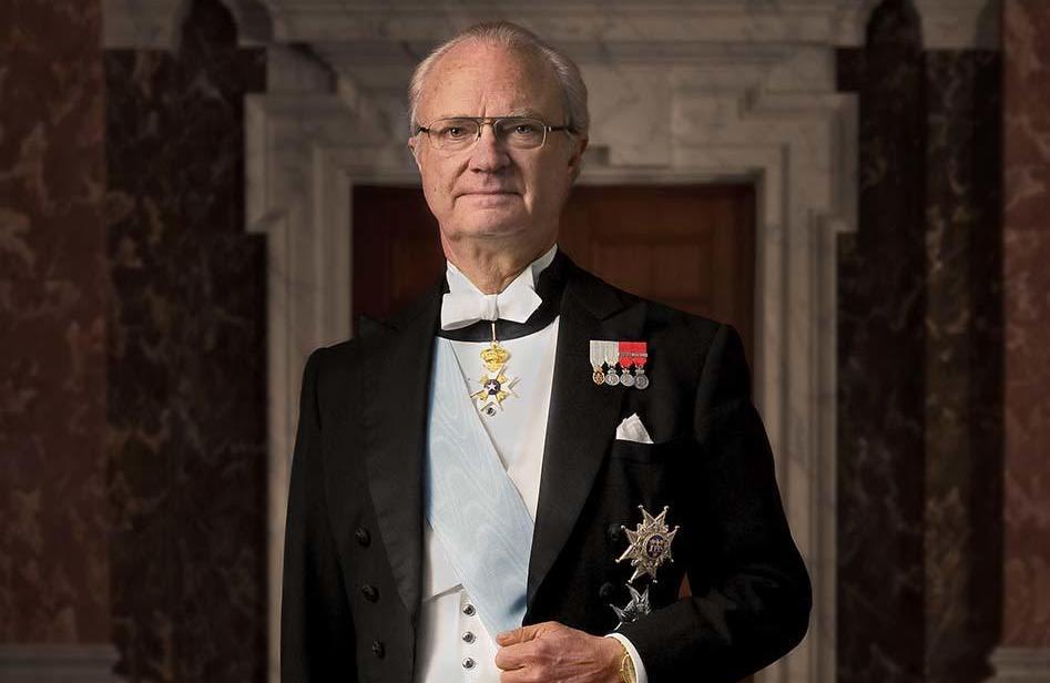Монарх Карл Густав XVI в Швеции