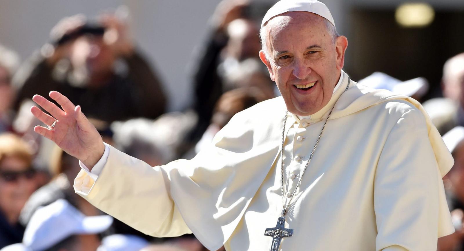 Король Ватикана Папа Франциск