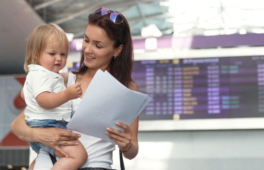 Документы на ребенка в путешествии