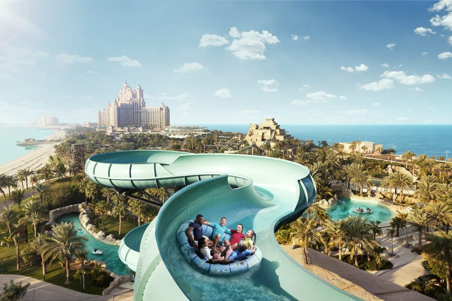 Аквапарк Aquaventure, Дубай, ОАЭ