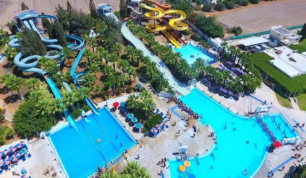 WaterWorld Waterpark, Айя-Напа, Кипр