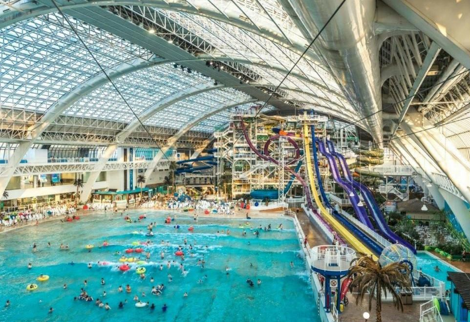 World Waterpark, Альберта, Канада