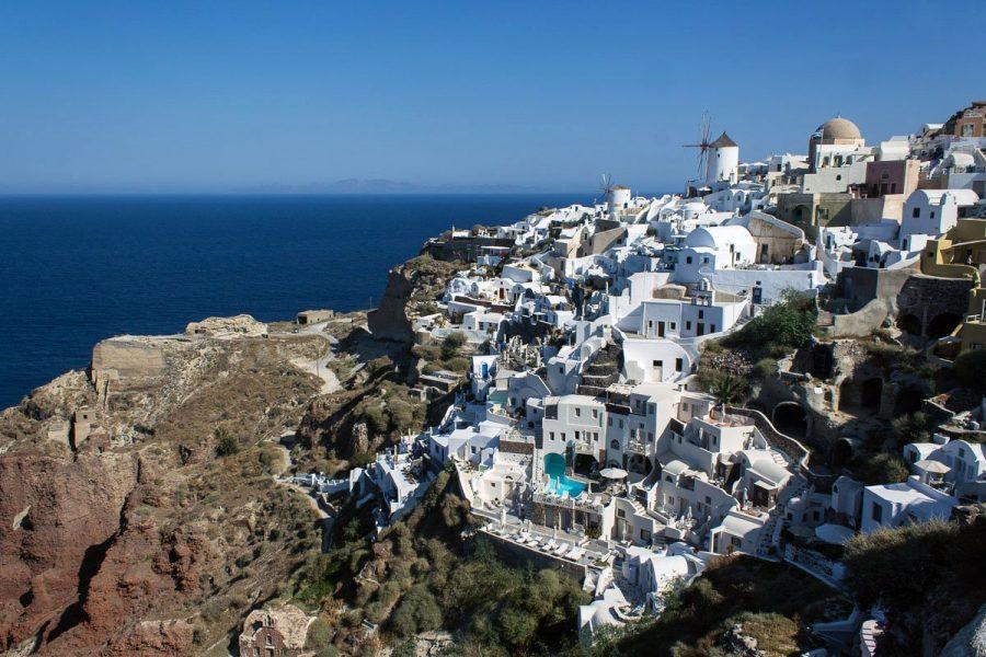 Остров Санторини, Греция