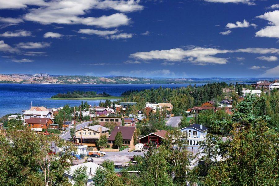 Йеллоунайф, Канада для любителей фото