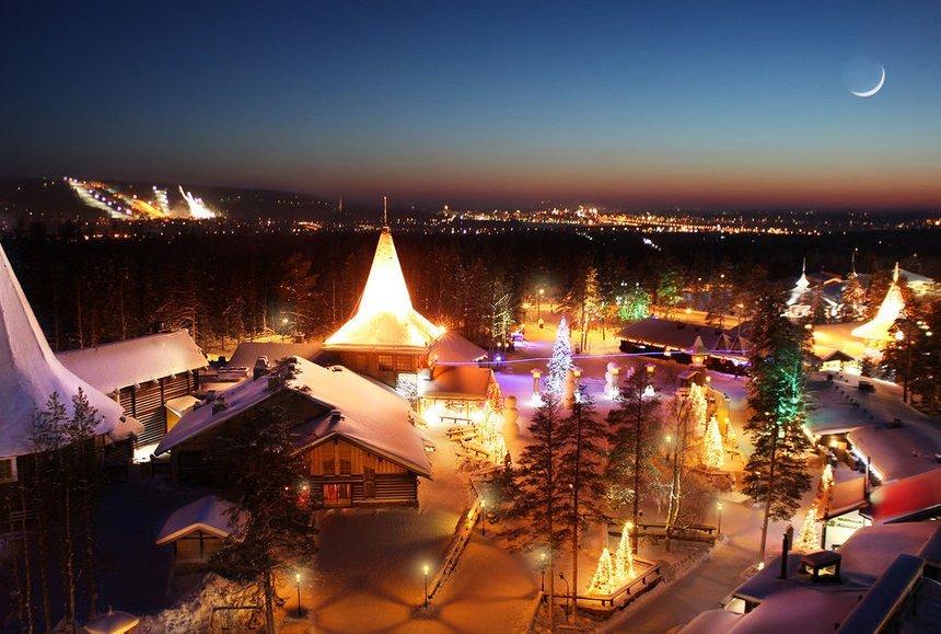 Рованиеми, Лапландия для любителей фото