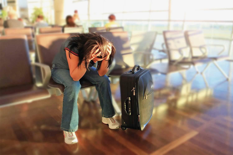 Опоздать на самолет в путешествии