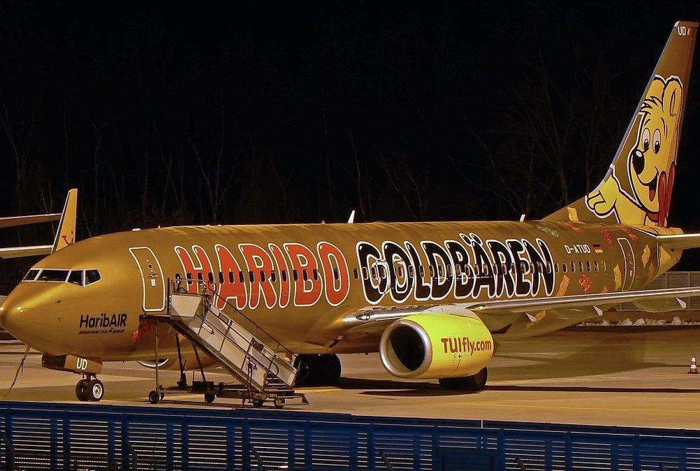 Голый перелет в авиакомпании Германии