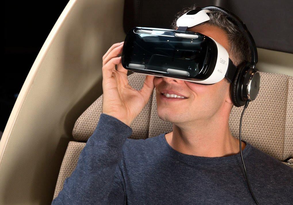 Qantas виртуальная реальность в самолете
