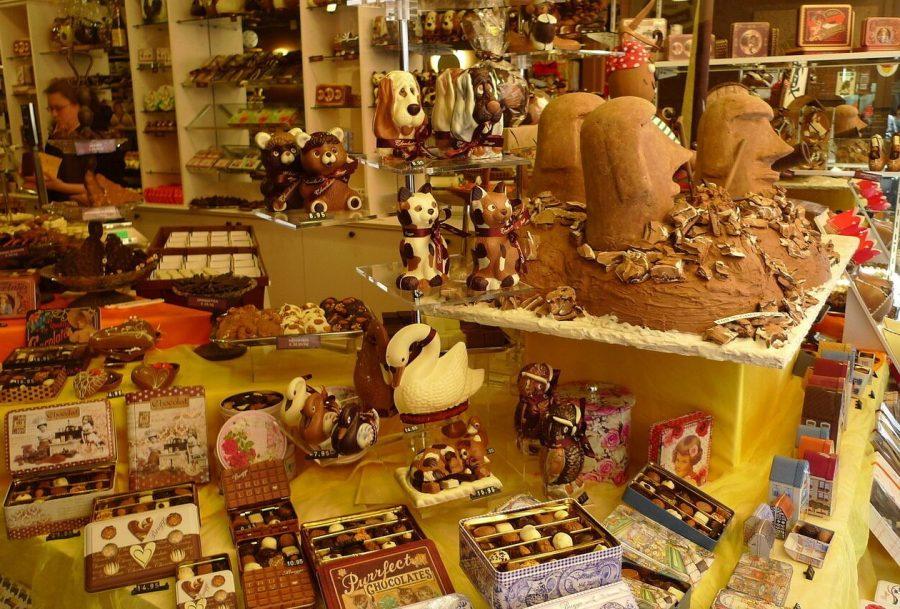 Музей шоколада в Бельгии