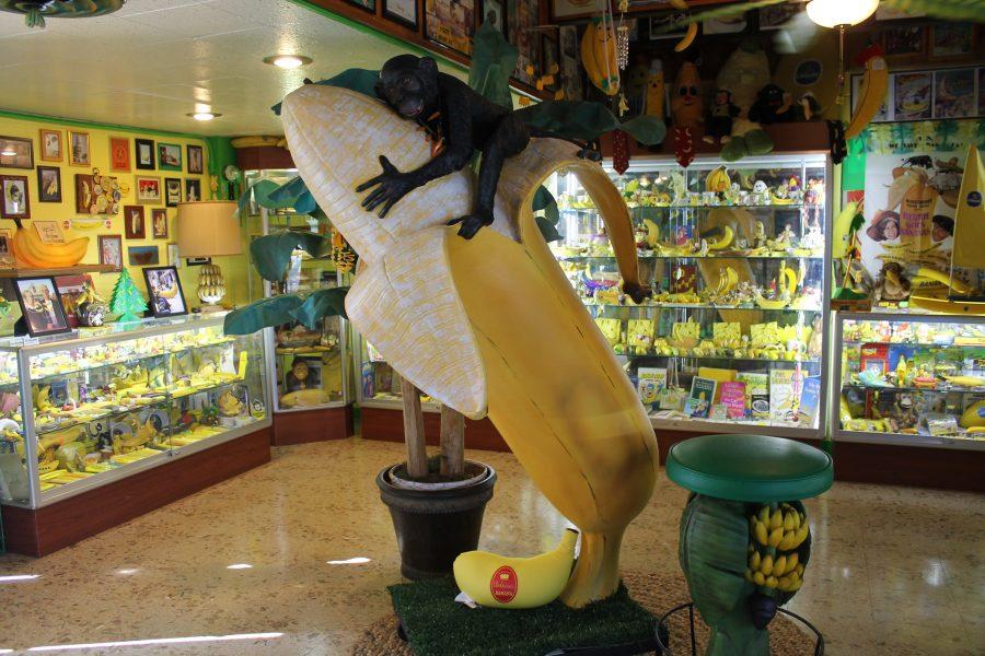 Музей банана в США в городке Аубурн