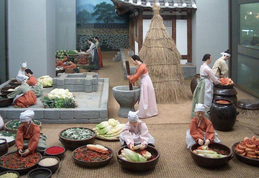 Музей кимчи в Южной Корее