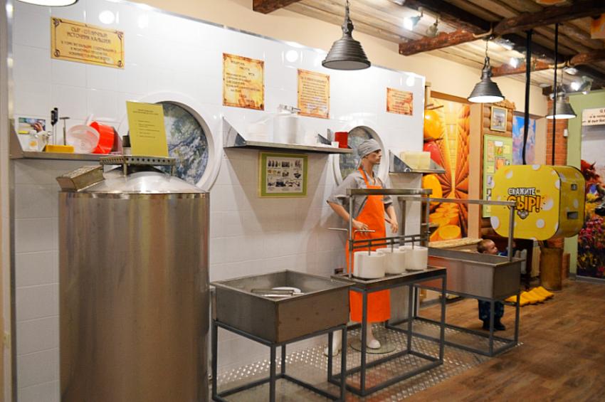Музей сыра в Костроме в особняке