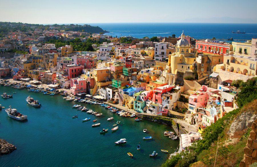 Procida, Италия неизведанное место