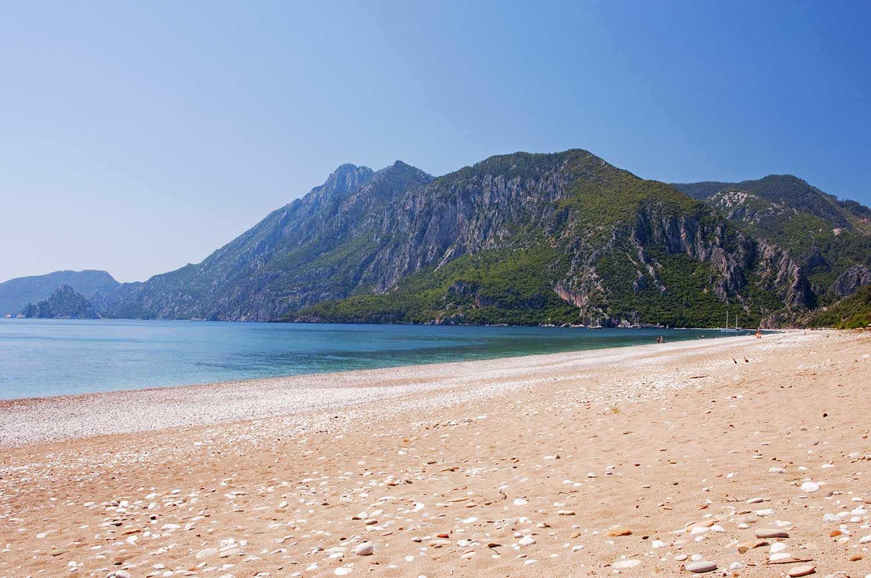 Cirali Beach, Турция неизведанное место