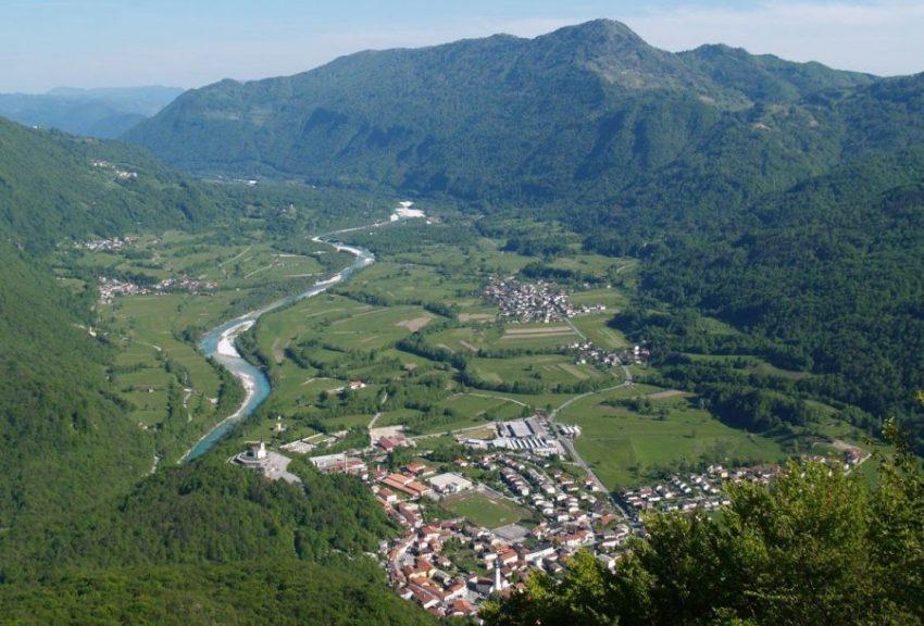 Kobarid, Словения неизведанное место