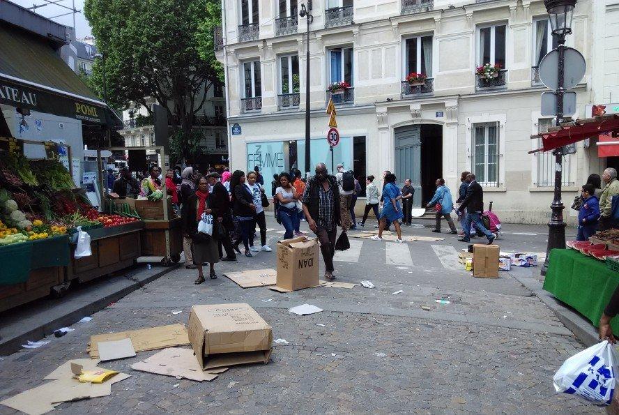 Париж опасный город для туристов