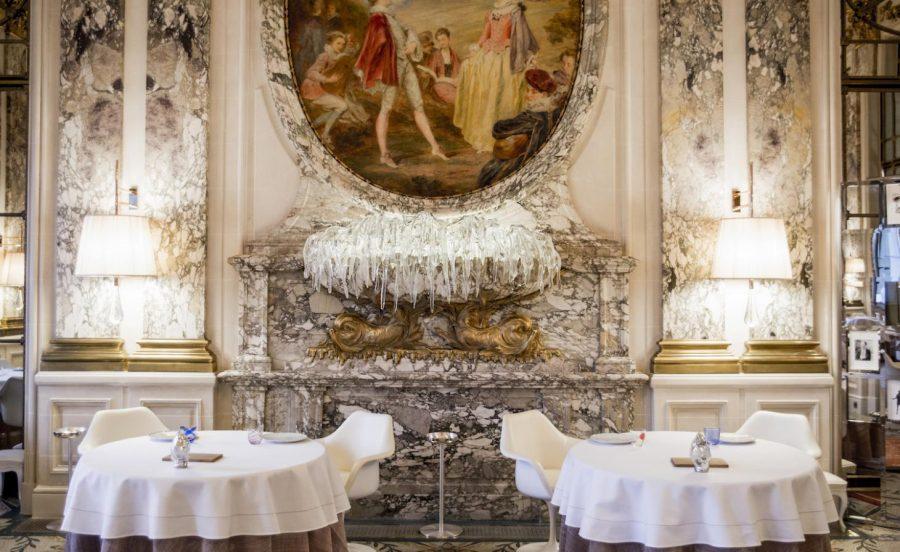 Restaurant Le Meurice, Париж
