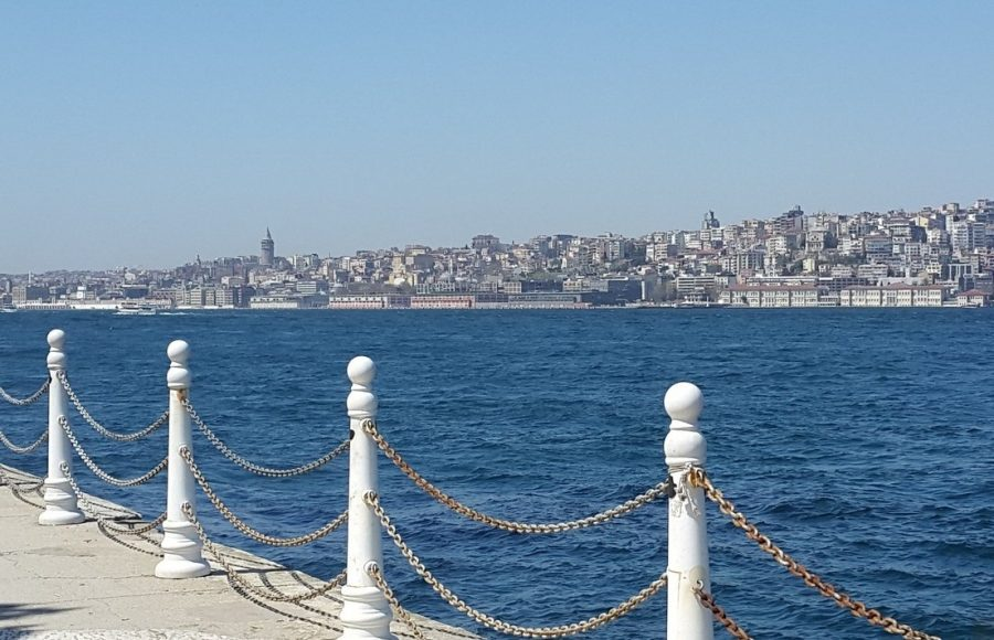 Набережная Босфора в Стамбуле