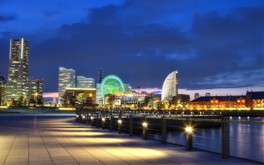 Набережная города Йокогама