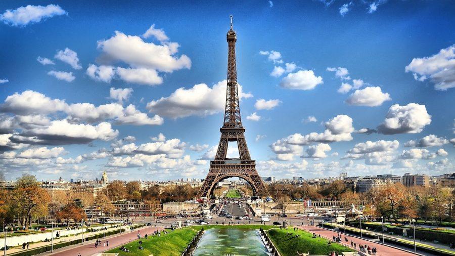 Париж красивая столица в мире
