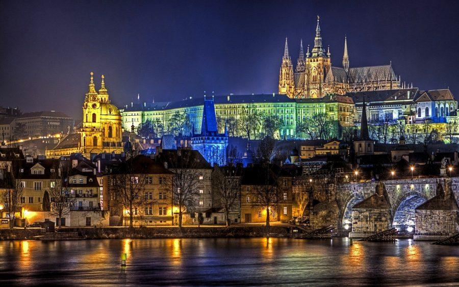 Прага красивая столица в мире