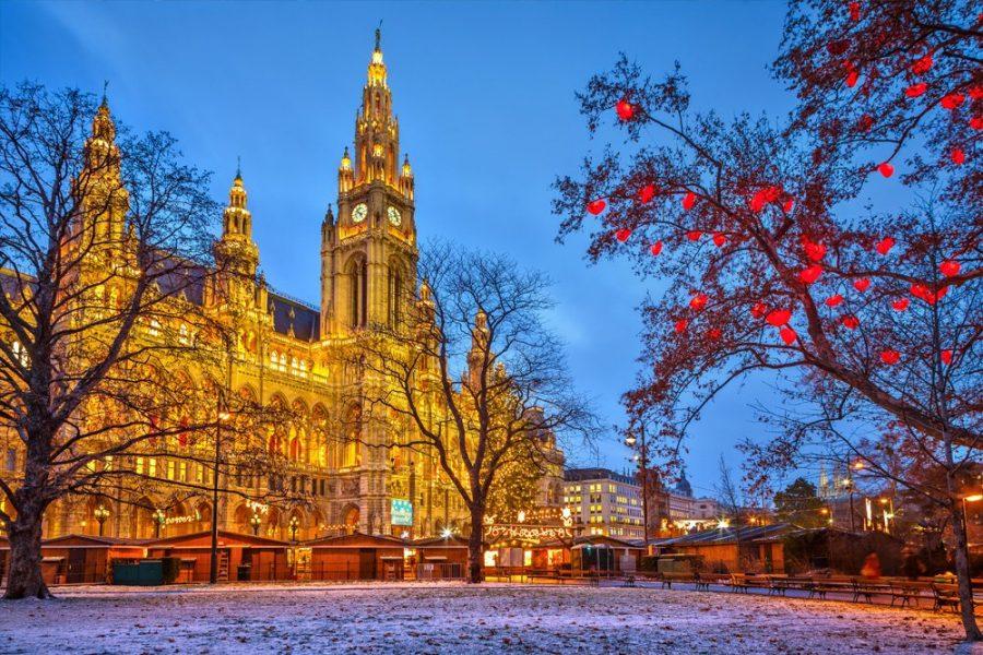 Вена красивая столица в мире