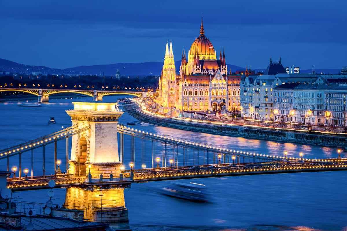 Будапешт красивая столица