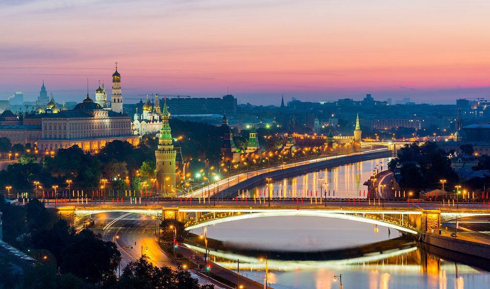Москва красивая столица в мире