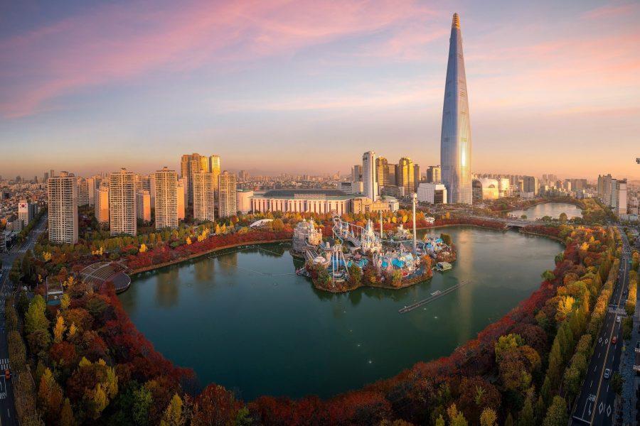 Сеул красивая столица в мире
