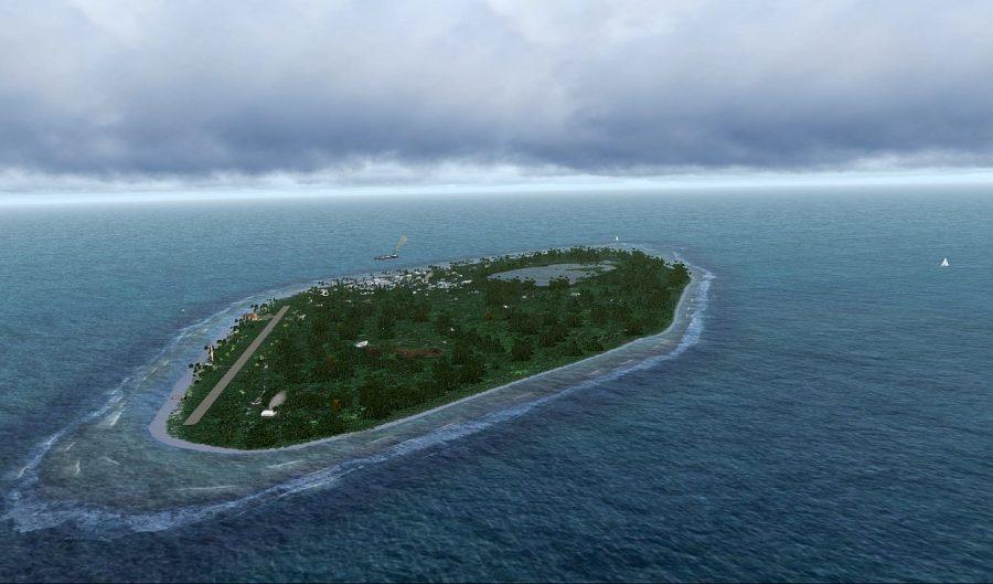 Тувалу маленькая страна-остров