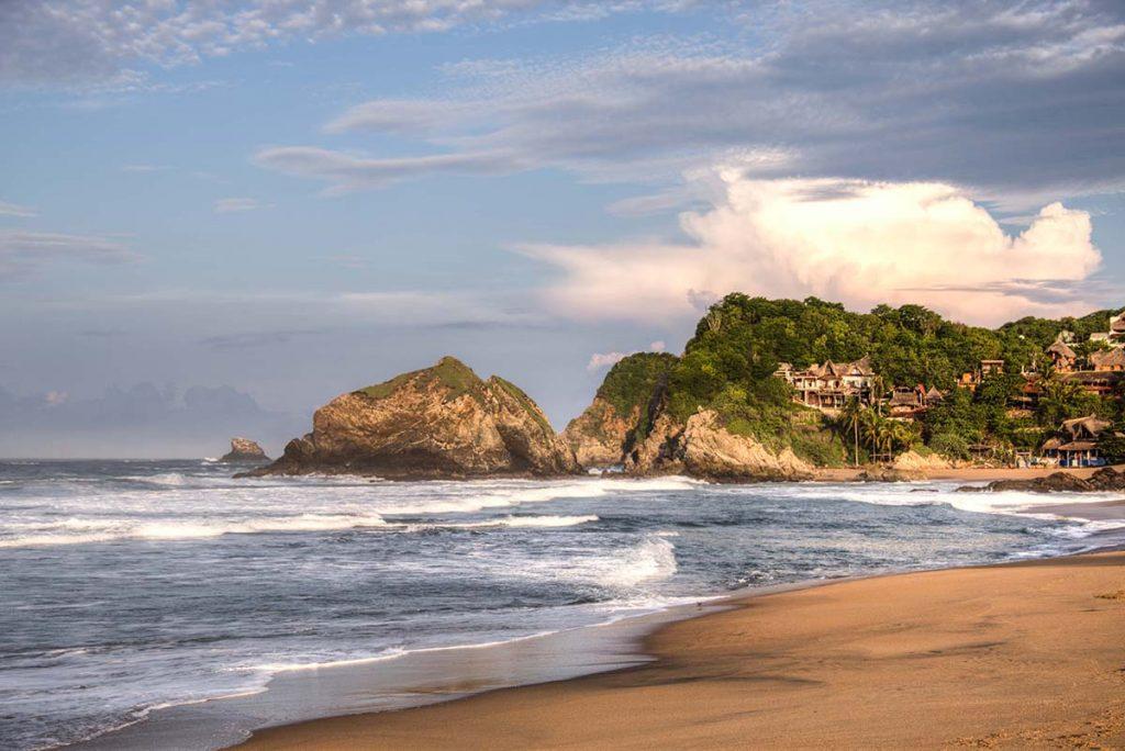 Мексиканский пляж Зиполите