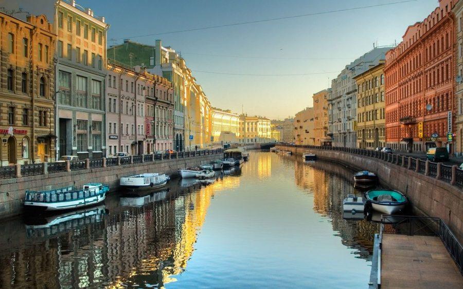 Каналы Санкт-Петербурга в России