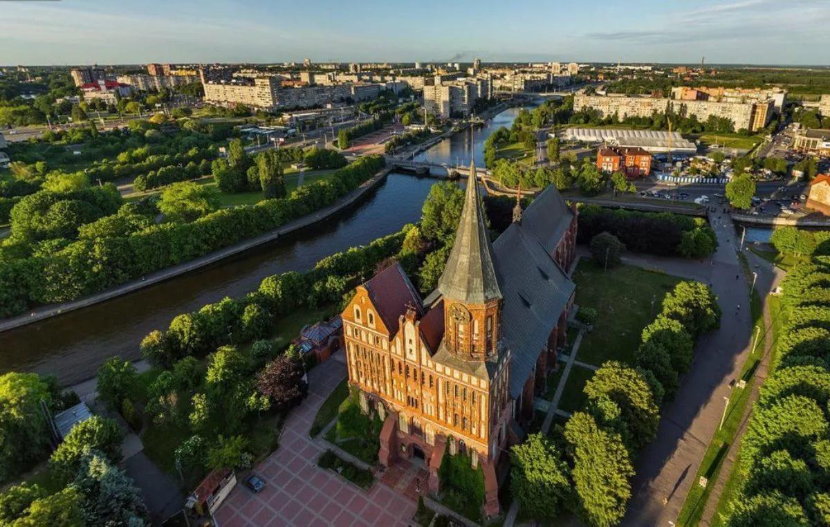 Калининград в России похож на Германию