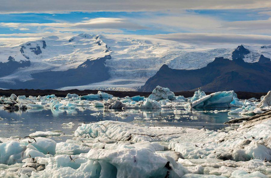 Ледяная лагуна Йокульсарлон