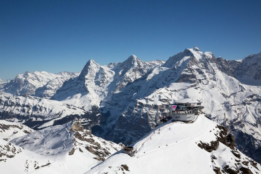Альпийский пик Шильтхорн