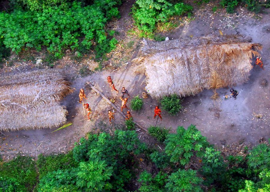 Сентинельцы дикое племя