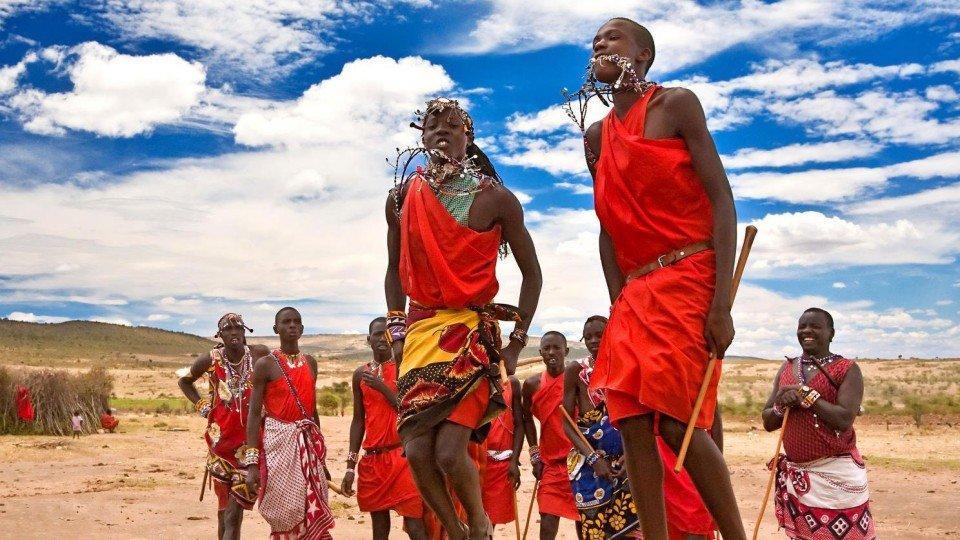 Масаи дикое племя в современном мире