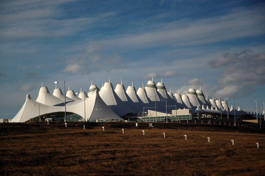 Большой аэропорт Денвер, США