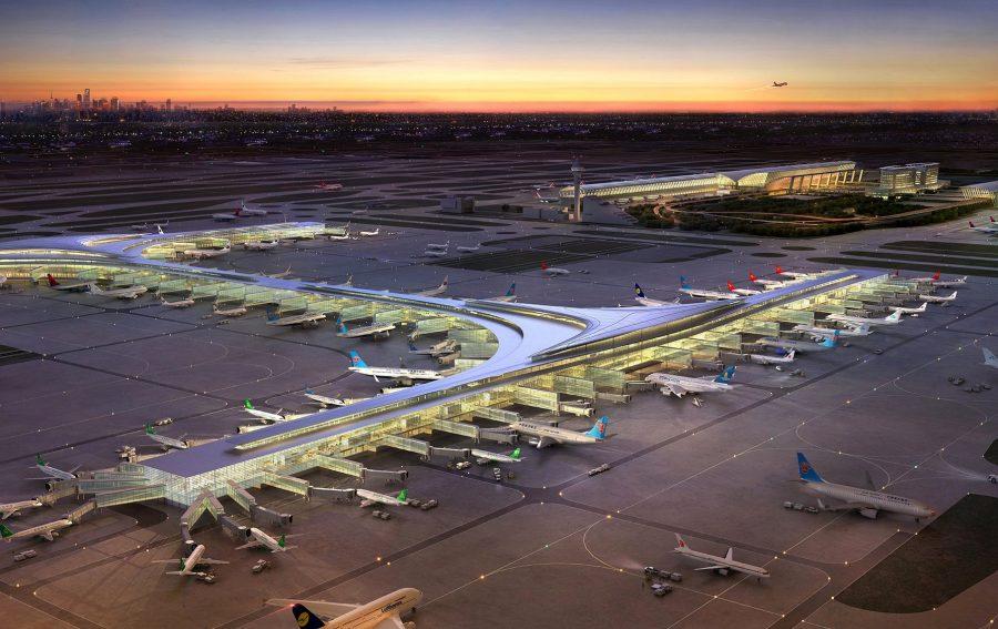 Аэропорт Шанхай Пудун, Китай
