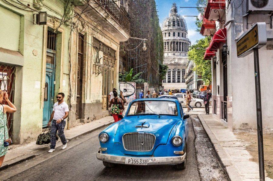 Куба яркая страна от серых будней