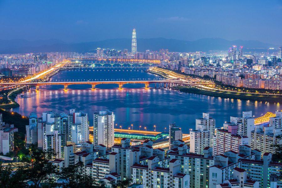 Яркая страна Южная Корея