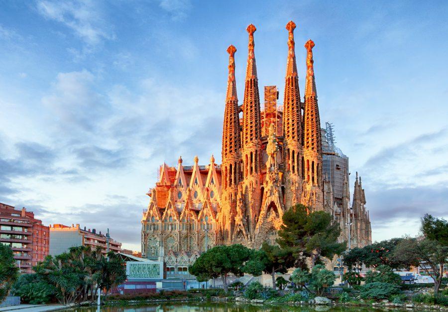Барселонская красота Искупительного храма Святого Семейства