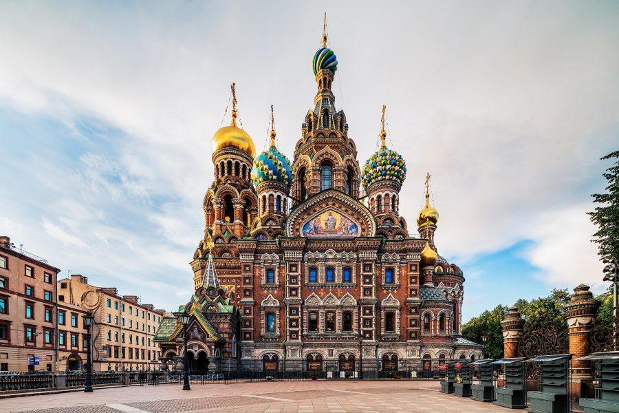 Питерское величие храма Спас на Крови