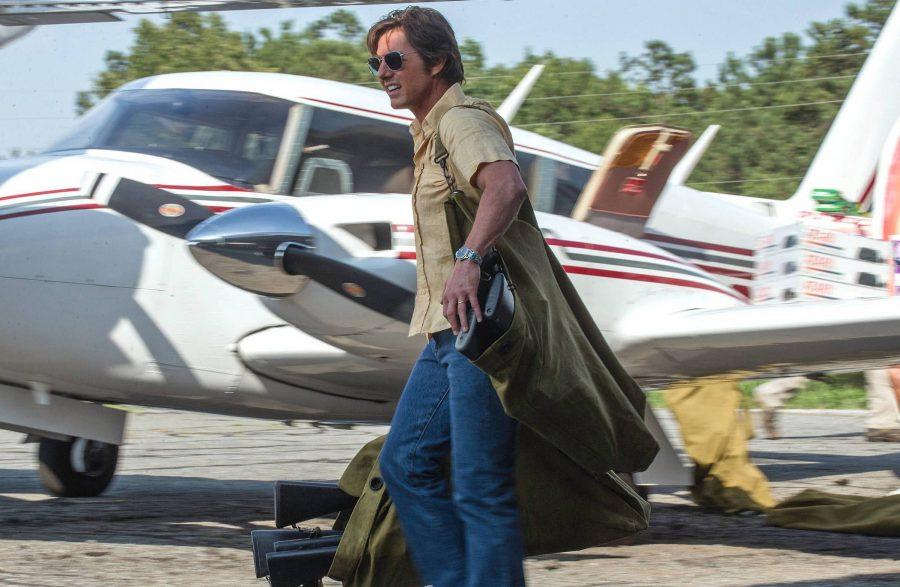 Том Круз путешествует на самолете