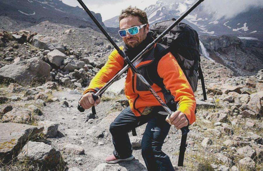 Илья Глинников в горах Грузии