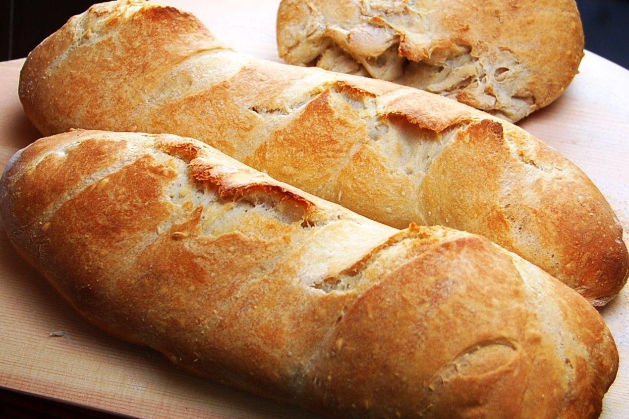 Хлеб в магазинах Франции