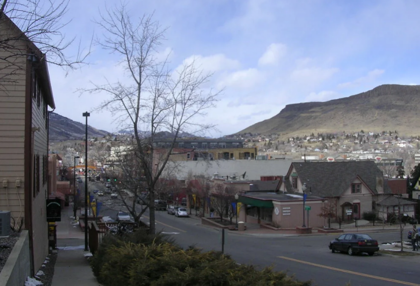 Город Голден штат Колорадо